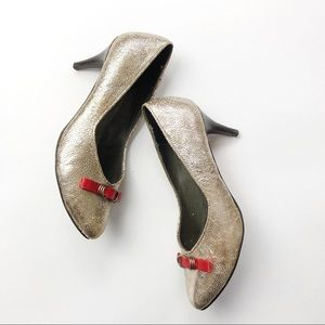 Anthropologie Pilcro and the Letterpress Heels